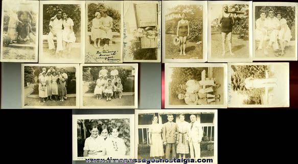 (15) 1920's & 1930's Totem Lodge Burden Lake, New York Photographs