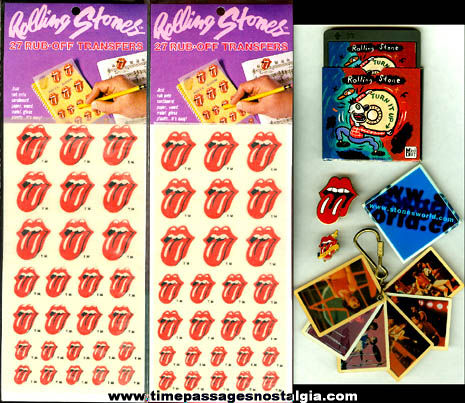 (6) Rolling Stones Music Items + Bonus Mini CD