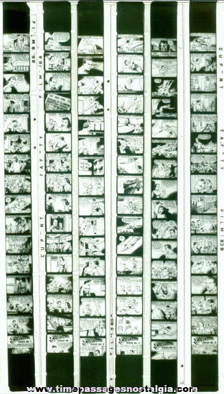 (6) Early Superman Film Strips With Bakelite Viewer
