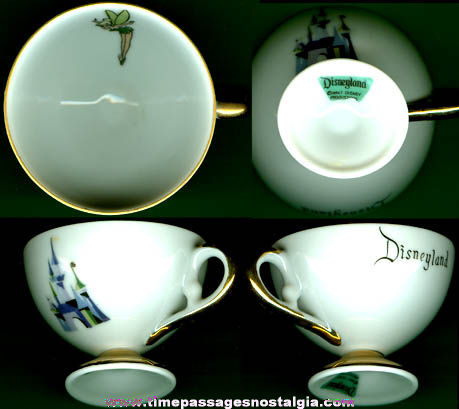 Small Old Disneyland Souvenir Tea or Coffee Cup