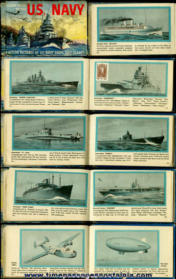 �1942 Guide Book To The U.S. Navy Book