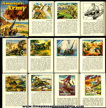 "�1942 Gum, Inc. ""America's Army"" Book"