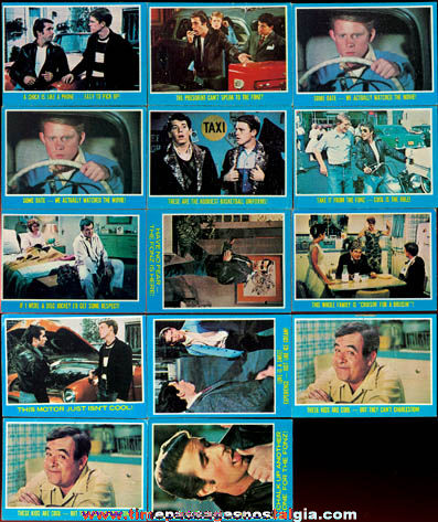 (14) 1976 Topps Happy Days Bubble Gum Trading Cards