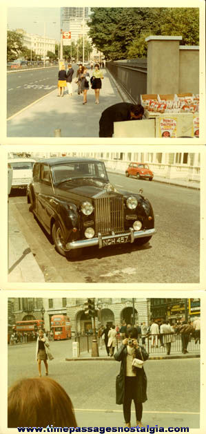 (14) 1968 London, England Color Photographs