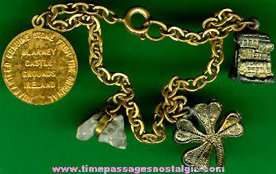 (3) Old Irish Blarney Stone Souvenir Items
