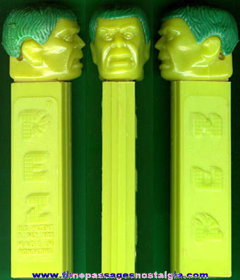 1970's Incredible Hulk Character PEZ Candy Dispenser