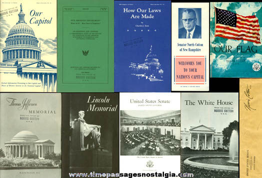 (11) 1960's Washington, D.C. Booklets, Brochures, & Envelope