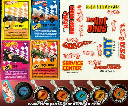(12) Small Hot Wheels Items