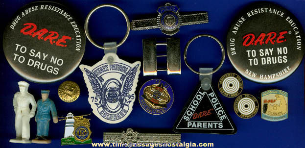 (15) Small Police Related Items