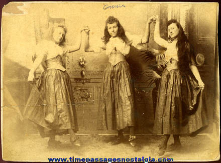 Early Dancing Girls Photograph