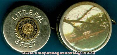 (2) Old Miniature Tape Measures