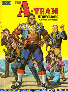 ©1983 A-Team Comics Illustrated Storybook