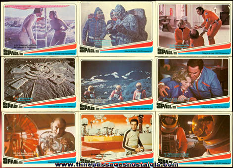 (27) ©1976 Space 1999 Bubble Gum Trading Cards