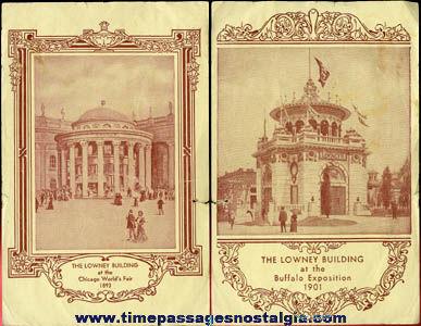Old Lowneys Worlds Fair Advertising Flyer