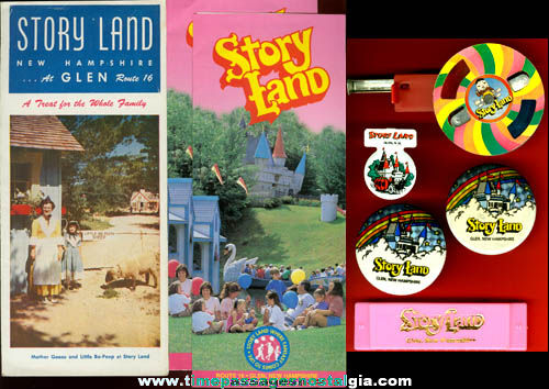 (8) New Hampshire Storyland Theme Park Items