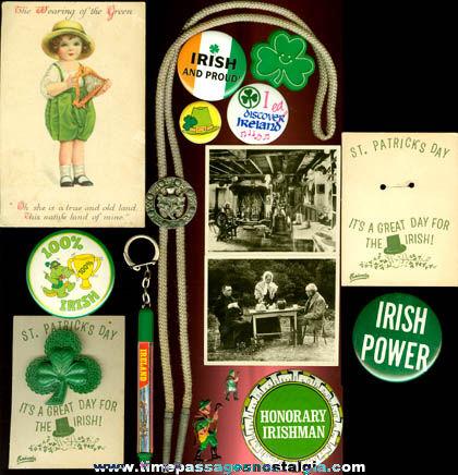 (16) Small Irish Related Items