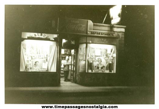1942 Daggetts Chocolates Delivery Truck & Driver Photo Negative With Bonus