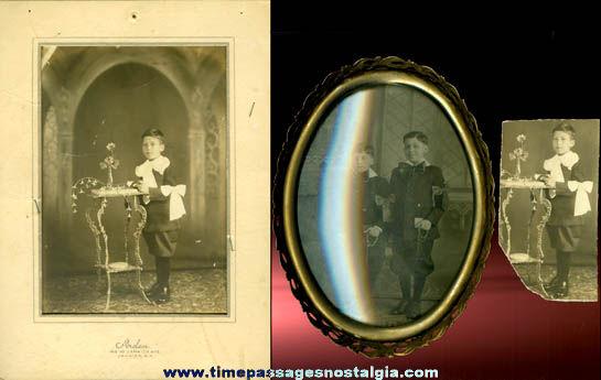 (3) Religious Young Boy Photographs