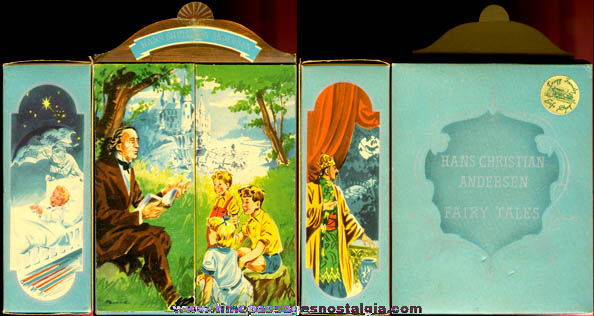 ©1949 Boxed Hans Christian Anderson Fairy Tales Miniature Book Set