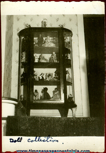 1943 Doll Collection Photograph