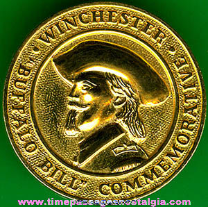 Winchester Buffalo Bill Cody Commemorative Pin