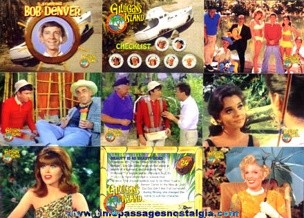 (33) Gilligan's Island Trading Cards