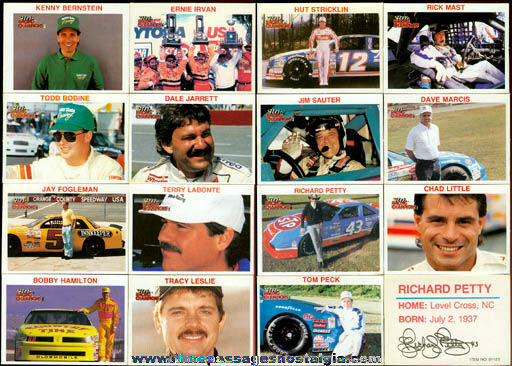 (67) Racing Champion Auto Racing Trading Cards