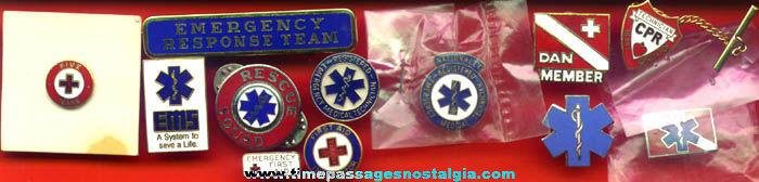 (12) Emergency Response / Ambulance Enameled Pins