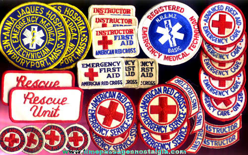 (29) Emergency Response / Ambulance Cloth Patches With Bonus