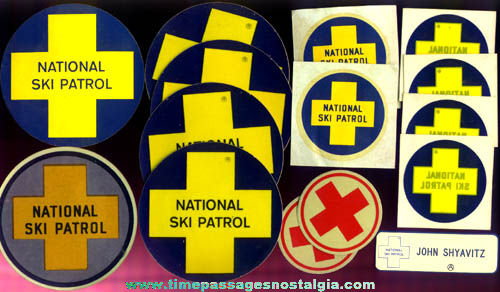 (15) National Ski Patrol Items
