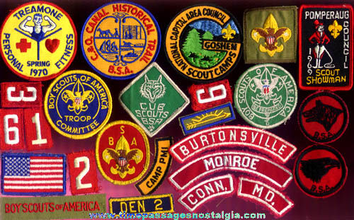 (24) Old Cub Scout & Boy Scout Patches
