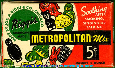 Old Unopened Metropolitan Mix Candy Box