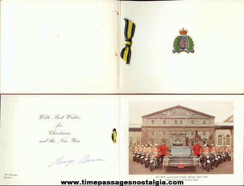 1964 Royal Canadian Mounted Police Christmas Card