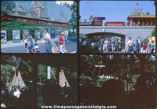 (8) 1965 Disneyland Color Photograph Slides