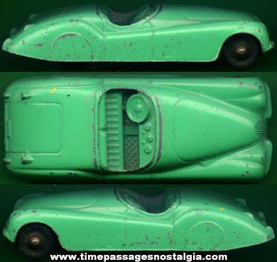 Old Diecast Metal Jaguar Tootsietoy Car