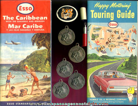 (14) Old ESSO Gasoline Advertising Items