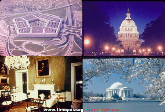 (25) Different Old Washington D.C. Photograph Slides