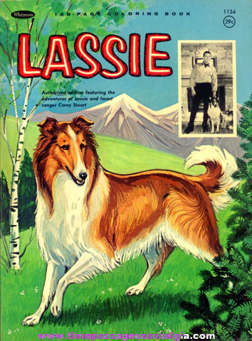 �1965 Whitman Lassie Coloring Book