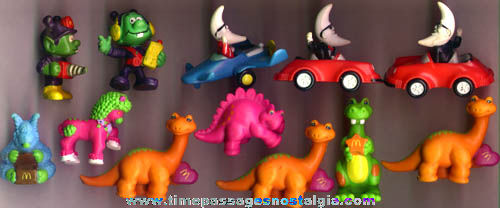 (12) 1980s McDonalds Happy Meal Character Toy Prizes