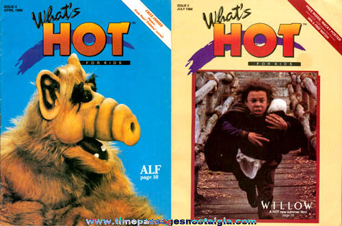 (2) ©1988 What's Hot Kids Magazines
