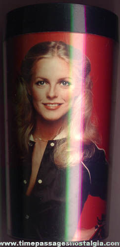 ©1977 Charlie's Angels Cheryl Ladd Character Drinking Glass