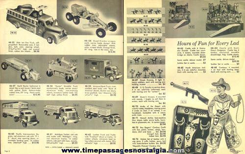 1949 Jordan Marsh Company Christmas Toy Catalog