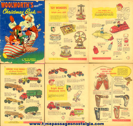 1952 Woolworth's Christmas Toy Catalog Comic Book