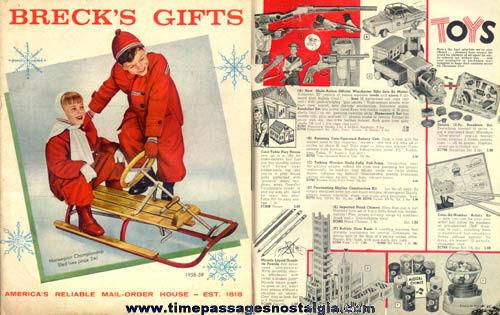 1958 - 1959 Brecks Of Boston Gift Catalog