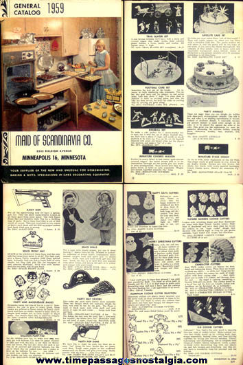 1959 Maid Of Scandinavia Company Catalog