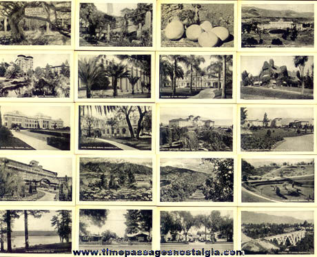 (20) ©1923 Pasadena, California Miniature Photographs With Folder