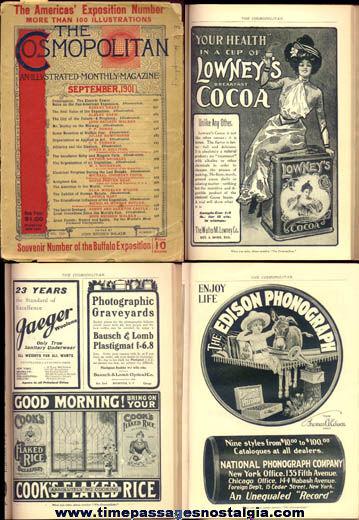 ©1901 Cosmopolitan Souvenir Buffalo Exposition Magazine