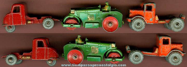 (3) Early Lesney Matchbox Vehicles