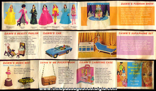 Old Dawn Doll Advertising Catalog Brochure
