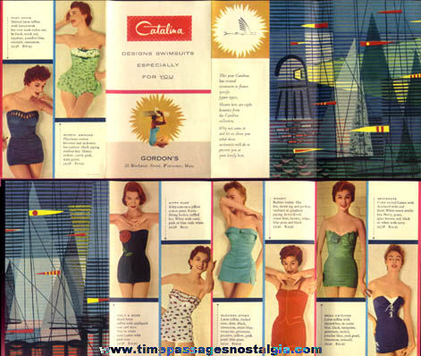 Old Catalina Swimsuit Catalog Brochure